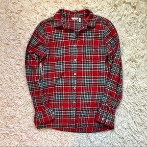Woolrich Tartan Plaid Flannel Button Down Shirt